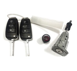 Audi - Audi A1 2 Remote Keys Lock Kit 315MHz 8X0837220G