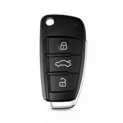 Audi - Audi A4 3 Buttons Flip Remote Key 434MHz 8EO837220Q