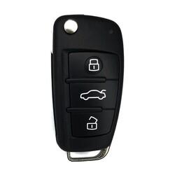 Audi A6 Q7 Keyless Go Key 433MHz 8E 4F0837220AF OEM - Thumbnail