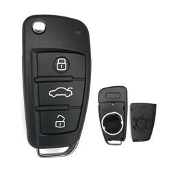 Audi - Audi 3Bt MQB Flip Key Shell