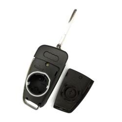 Audi Mqb Flip Key Shell - Thumbnail