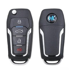 KeyDiy - B12-4 Keydiy Ford Type 3 Button Remote