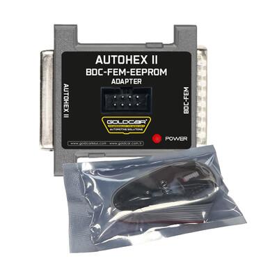 Goldcar - BDC-FEM-EEPROM Adapter for Autohex-II