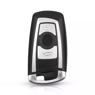 Bmw F Series 3 Buttons Smart Key Shell Grey