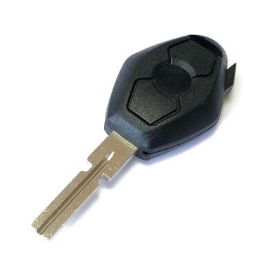 Bmw - Bmw HU58 Transponder Key (%100 Brass) Made in Turkey