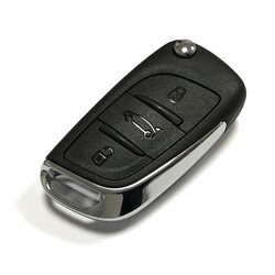 Citroen - Citroen C4 Flip Remote Key 434MHz Genuine 5FA010354
