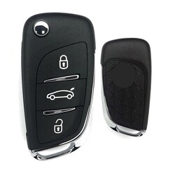 Citroen - Citroen DS4 Flip Remote Key 434MHz Genuine OEM 5FA010354