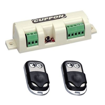 Cuppon SN-32 Shutter-Panjur Receiver with 2 Remotes