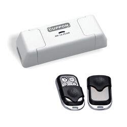Garage Remotes - Cuppon SN-12 Receiver dry contact trigger with 2 Remotes