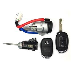 Hyundai New i20 Lock Set 434MHz OEM 2020+ - Thumbnail