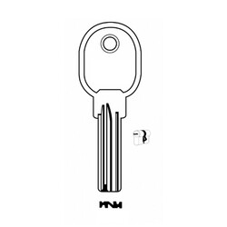 Auto Key Store - Iseo IE15-ISE1B House Key (100pcs) %100 Brass Made in Turkey