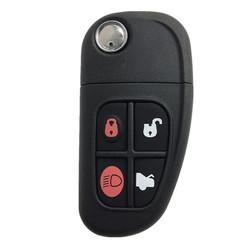 Jaguar - Jaguar 4 Buttons Flip Key 433,92MHz ID60 Original Board