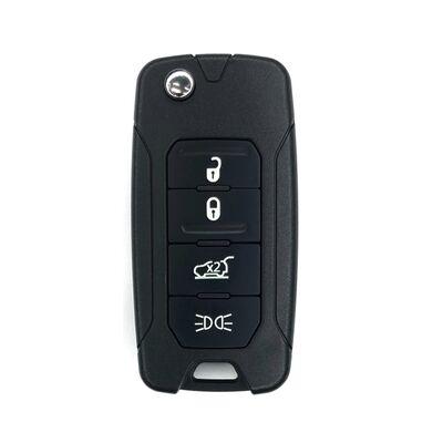 Jeep Renegade 4Btn Flip Remote Key 433MHz