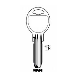 Auto Key Store - Opsial KLE10R-KA12B House Key (100pcs) %100 Brass Made in Turkey