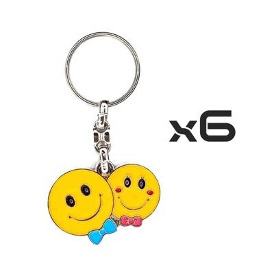 Auto Key Store - Key Rings Model-1 6PCS