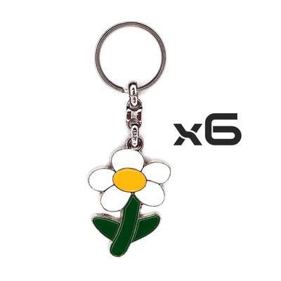Auto Key Store - Key Rings Model-10 6PCS