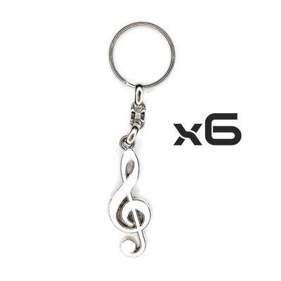 Auto Key Store - Key Rings Model-16 6PCS