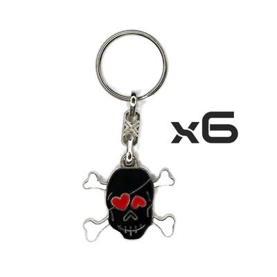 Auto Key Store - Key Rings Model-17 6PCS