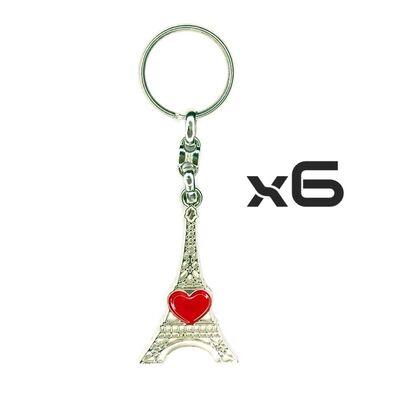 Key Rings Model-18 6PCS