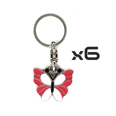 Auto Key Store - Key Rings Model-19 6PCS