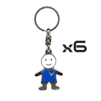 Auto Key Store - Key Rings Model-20 6PCS