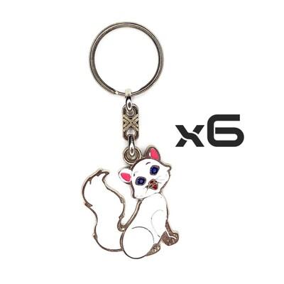 Auto Key Store - Key Rings Model-21 6PCS