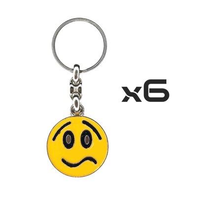 Auto Key Store - Key Rings Model-3 6PCS