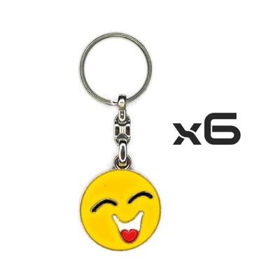 Auto Key Store - Key Rings Model-4 6PCS