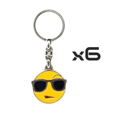 Auto Key Store - Key Rings Model-5 6PCS