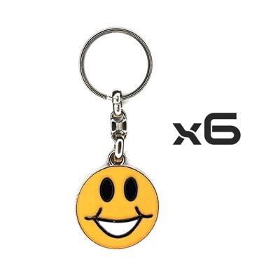 Auto Key Store - Key Rings Model-6 6PCS