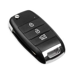 Kia - Kia 3 buttons flip key shell new type