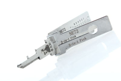 Lishi NE72 V.3 2in1 Decoder & Pick Tool Peugeot, Citroen, Renault