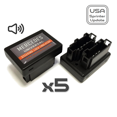 Mercedes - Mercedes Universal Steering Lock Emulator Plug-Start (Lock Sound) 5PCS