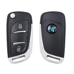 KeyDiy - NB11-2 KeyDiy Multi Function PSA Type 2 Button Flip Remote