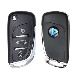 KeyDiy - NB11-3 KeyDiy Multi Function PSA Type 3 Button Flip Remote
