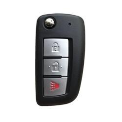 Nissan - Nissan 3 buttons flip key shell