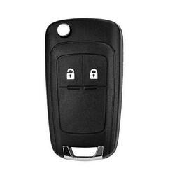 Opel/Vauxhall - Opel/Vauxhall Astra J Corsa E 2Bt Flip Key Shell