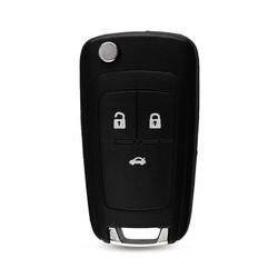 Opel/Vauxhall - Opel/Vauxhall Insignia Astra J 3Bt Flip Key Shell