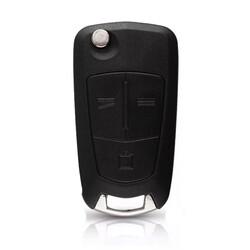 Opel - Opel Vectra C 3 Button Remote Key 434MHz Delphi