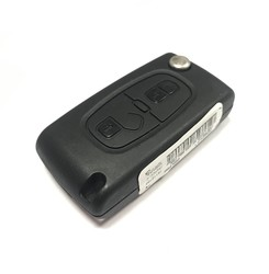 Peugeot - Peugeot 2 Buttons Remote Flip Key 434MHz Genuine