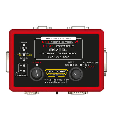 Goldcar - Professional MB Testing Tool EIS/ESL Gateway Dashboard Gearbox Ecu Compatible with CGDI