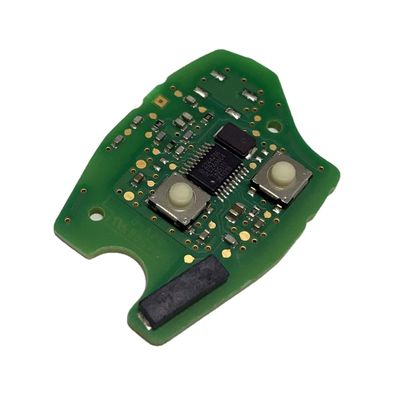Renault 2 Buttons Remote Key AES 434MHz Original Board