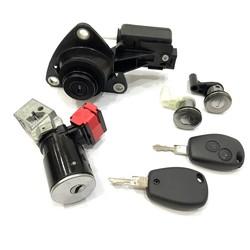 Renault - Renault Dacia Hitag AES Lock Set 434MHz