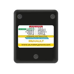 Goldcar - Renault Universal Steering Lock ESL Emulator Megane 2-3 / Clio 3-4 / Fluence 2-3 / Laguna 2-3 / Scenic 2-3 / Captur Plug & Play No Need Adaptation