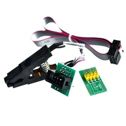 China - SOIC8 SOP8 Test Clip For EEPROM 93CXX / 25CXX / 24CXX in-circuit programming+2 adapters