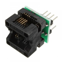 SOIC8 SOP8 to DIP8 EZ Programmer Adapter Socket Converter Module 150mil - Thumbnail