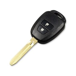 Toyota - Toyota 2 Buttons Key Shell Cover TOY43