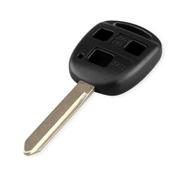 Toyota - Toyota 3 Buttons Key Shell Cover TOY47