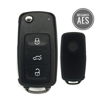 Volkswagen - Volkswagen 3 Buttons MQB Remote Key 434MHz - 5K0837202BH