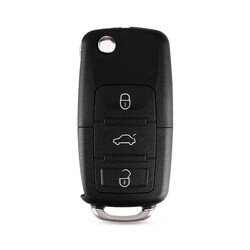 Volkswagen - Volkswagen 3Bt Remote Key 434MHz 1K0959753 DA-AH-G Series (All in One)